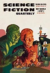 30 x 20 Stretched Canvas Poster Science Fiction Quarterly: Diabolical Scheming