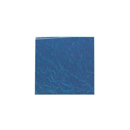 カラー純銀箔 #613 藍色 3.5㎜角×5枚