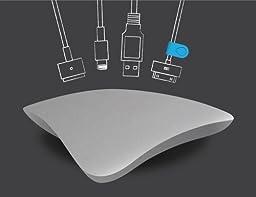 MOS Magnetic Cable Organizer -Aluminum
