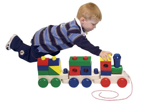 Melissa & Doug Jumbo Stacking Train