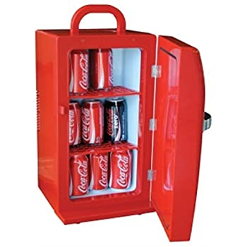 Coca Cola CCR-12 Retro Fridge, Red
