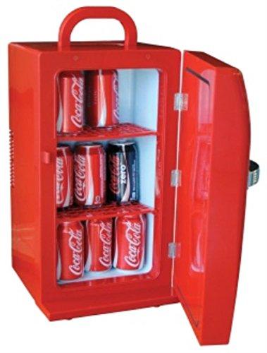 Coca Cola CCR-12 Retro Fridge, Red 1