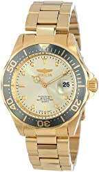Invicta Men's 14979 Pro Diver Analog Display Japanese Quartz Gold Watch