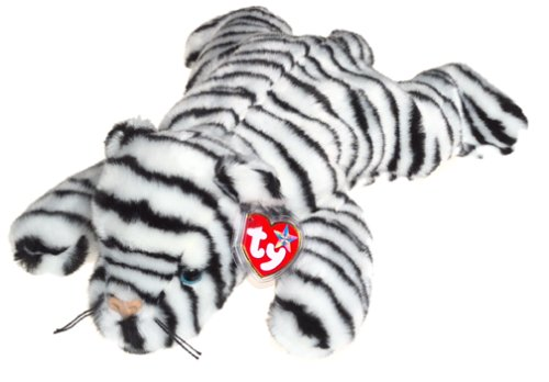 TY Beanie Buddy - WHITE TIGER the Tiger (Blizzard) - 1