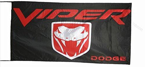 dodge-viper-flag-fahne-flagge-150-x-75-cm