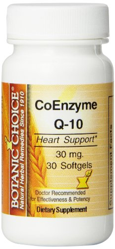Botanic Choice Coenzyme Q-10 30 Mg (Pack of 5)