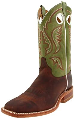 Justin Boots Mens Bent Rail 11 Square-toe Boot by Justin Boots