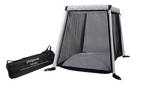 phil&teds Portable Traveller Crib, Silver