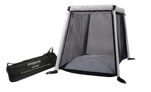 Phil and Teds Traveller Travel Cot Silver
