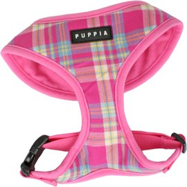 Puppia Soft Dog Harness Spring Pink Large