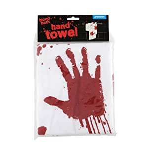 Spinning Hat Blood Bath Hand Towel