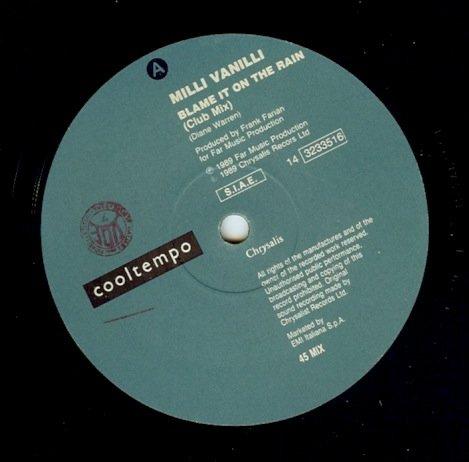 MILLI VANILLI - Blame It On The Rain - Zortam Music
