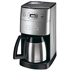 Review Coffee Makers: Cuisinart DGB650BCU Grind and Brew Automatic Filter Coffee Maker
