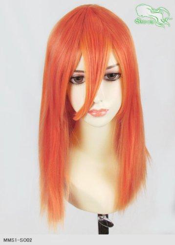 スキップウィッグ 魅せる シャープ 小顔に特化したコスプレアレンジウィッグ フェアリーミディ スモモ