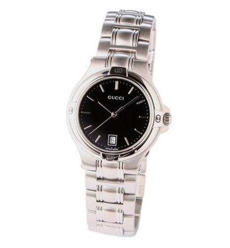 [グッチ]GUCCI 腕時計 9045 SS ブラック YA090304 メンズ 【並行輸入品】
