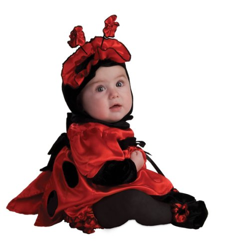 Rubie'S Costume Noah'S Ark Satin Ladybug Costume, Red, 12-18 Months