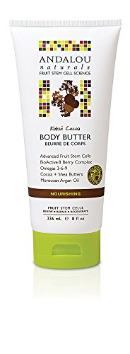 Andalou Naturals Body Butter, Kukui Cocoa, 8 Ounce