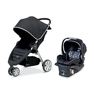 Britax B-Agile and B-Safe Travel System, Black $305.97