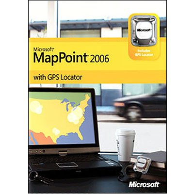 Microsoft MapPoint 2006 with GPS [Old Version]