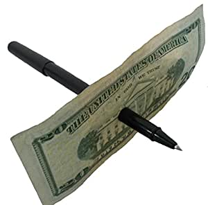 AZ Magic Store Az Magic Pen Thru Dollar Bill Trick