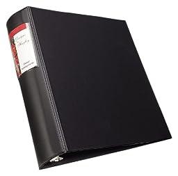 Avery Heavy-Duty Binder, 2 Inch Round Ring, Black, 1 Binder (6534)