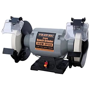 Black Bull Bg8ss 8 Inch Slow Speed Bench Grinder Amazon Co Uk Diy Amp Tools