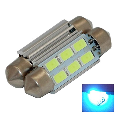 Best Ridiculously Bright Samsung Cool White 6 Led Light Bulbs Auto Replacement Lighting Interior Dome Trunk Map Reading Light Bulb 36Mm Festoon 3710 3610 6461 6418 L170