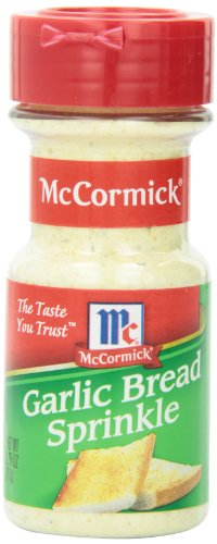McCormick Garlic Bread Sprinkle, 2.75 Ounce Unit (Cheese Garlic compare prices)