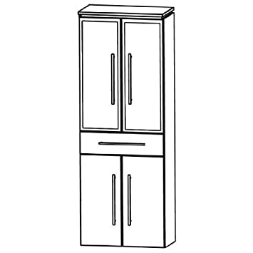 Perfect Cool Line (HNA056B5 M) Bathroom Furniture Tall 60 cm