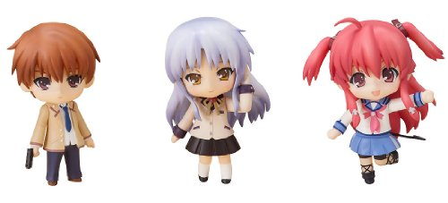 ねんどろいどぷち Angel Beats!セット02 (ノンスケールABS&PVC塗装済み可動フィギュア)