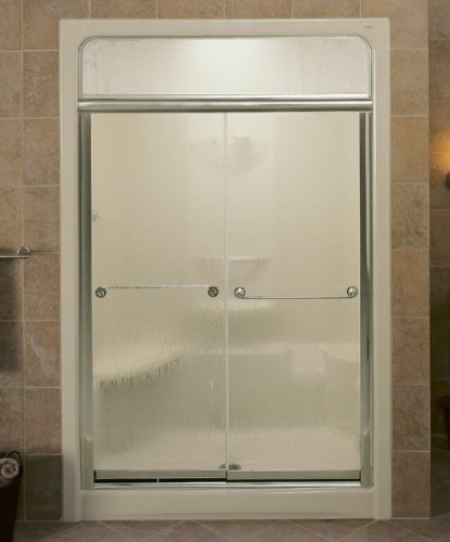 KOHLER K-704312-L-MX Senza Steam Bypass Shower Door, Matte Nickel