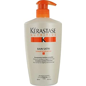 Kerastase paris nutritive bain satin 1 shampoo normal dry for Kerastase bain miroir 1 shampoo