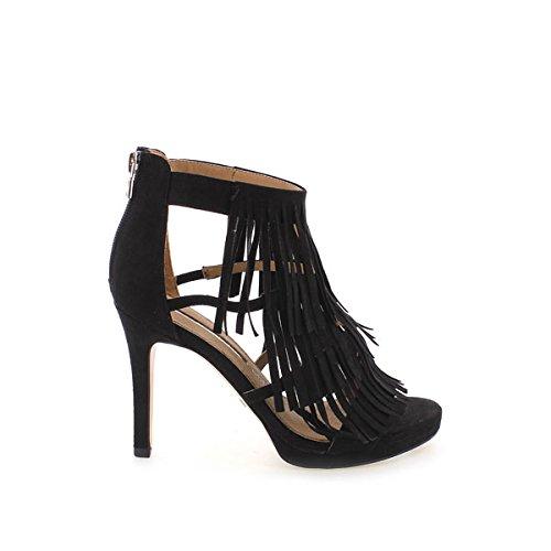 MARIA MARE - 66004 - C25627 - Sandale - Donna - Taglia: 38 - Colore: Nero