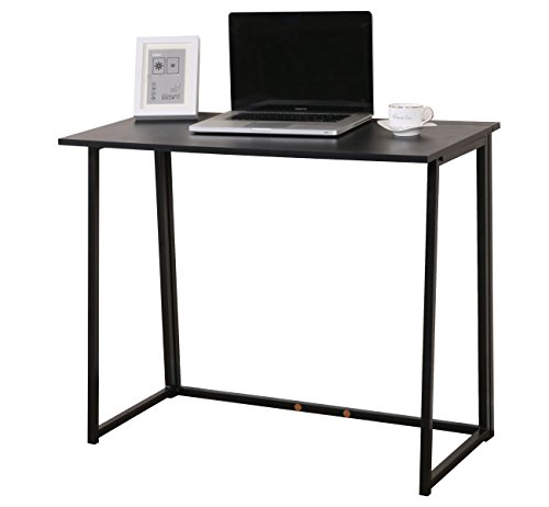 cherrytree-furniture-compact-flip-flop-folding-computer-desk-home-office-laptop-desktop-table-black