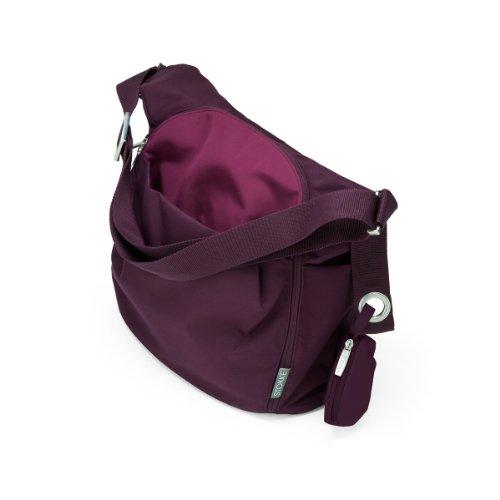 Stokke Xplory Changing Bag, Purple front-855470