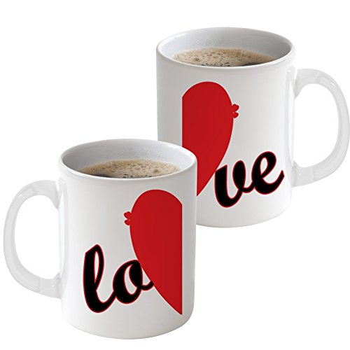 PicOnTshirt Funny Matching Couple Wedding Coffee Mugs Set Design 104