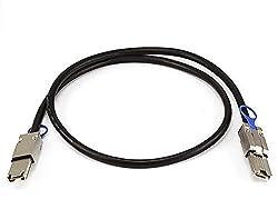 CNCT SAS 26 Pin 1m - External Mini SAS 26-Pin SFF-8088 Male to Mini SAS 26-Pin SFF-8088 Male Cable