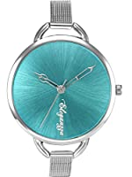 Eleganzza Analogue Aqua Blue Dial Girl's Watch