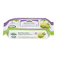 Aleva Naturals Bamboo Baby Wipes, 80 Count (Pack of 6) by Aleva Naturals