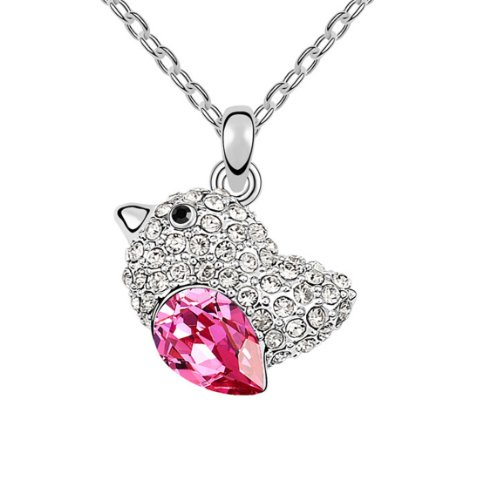 Boxingcat Fine Jewelry Swarovski Style Clear Austrian Crystal Pendant Necklaces Bgca6597 front-924947