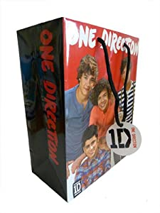 Official One Direction 1d Gift Bag With Tag by Global Merchandising