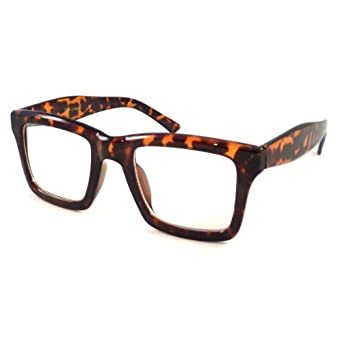 Square Framed Fashion Glasses : Amazon.com: VINTAGE Retro Wayfarer Square Frame Fashion ...