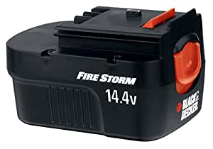 Black & Decker FSB14 FireStorm 14.4-Volt NiCad Slide Style Battery
