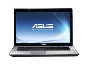 Asus X73SV-TY152V 43,9 cm (17,3 Zoll) Notebook (Intel Core i5 2410M, 2,3GHz, 6GB RAM, 500GB HDD, NVIDIA GT 540M, DVD, Win 7 HP) schwarz-silber