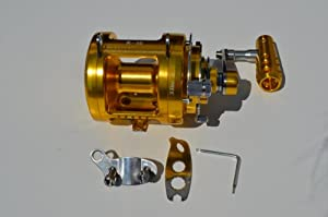 30 WIDE 2 SPEED BIG GAME FISHING REEL, BLUE MARLIN TOURNAMENT EDITION by EAT MY TACKLE