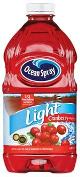 Ocean Spray Light Cranberry Juice Cocktail, 64 fl oz (1.89 ltr)