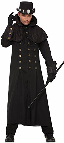 Men's Warlock Costume Coat