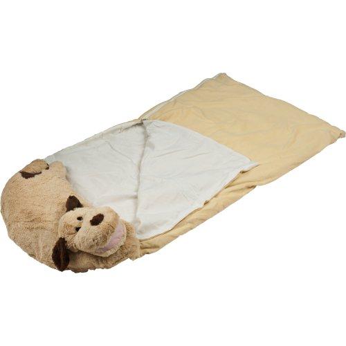 Happy Camper Kids Dog Pet Pillow Sleeping Bag Combo