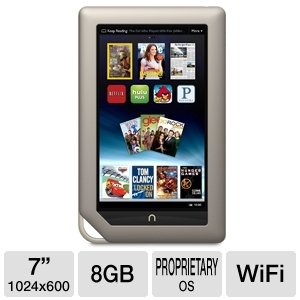 "NOOK 7"" 8GB WiFi Tablet at Electronic-Readers.com"