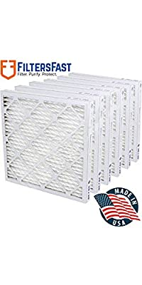 "1"" Pleated Air Filter Merv 13 - 6 pack by Filters Fast"